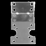 AM-20-1 ss bracket for single stage slim blue housing